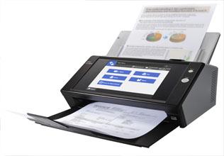 Сканер с бумагой